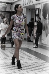 Fashion Girl (stonem64) Tags: street girl fashion glamour pattern fuji dress fit photostream x100
