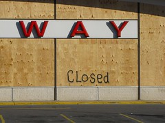 Abandoned Safeway store (SchuminWeb) Tags: park county signs building abandoned up sign retail marina silver buildings way georgia store spring boards md closed december ben web board parking lot style maryland ave signage 11201 montgomery safe grocery stores avenue safeway groceries signing 2009 abandonment lots plywood boarded wheaton permanent boardup permanently retailers marinastyle schumin schuminweb