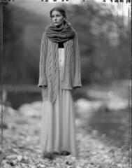 Alex (Braca Nadezdic) Tags: portrait blackandwhite bw analog portraits polaroid 4x5 largeformat graflex speedgraphic polaroid55 aeroektar
