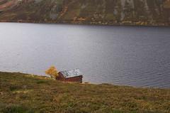 Boat house (D-j-L) Tags: lake water scotland highlands loch scottishhighlands lochmuick cairngormnationalpark