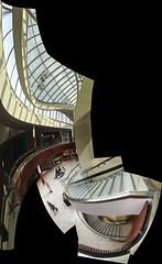 DC3248  IMG0450iPH5  Stairway  © 2013 Paul Light (Paul Light) Tags: autostitch massachusetts stairway natick natickmall
