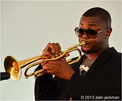 Maurice Brown, Maurice Brown Ensemble, 2013 Jazz in the Valley (jackman on jazz) Tags: music concert trumpet jazz poughkeepsie horn brass jazzfestival trompete mobetta mauricebrown poughkeepsienewyork d7000 nikond7000 jackmanonjazz alanjackman mauricebrownensemble