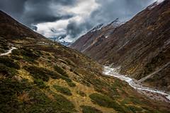 (Nathan A Rodgers) Tags: nepal mountain mountains nature trekking trek river asia hiking hike countries backpacking rivers himalaya annapurnacircuit annapurna himalayas southasia manang 2013 westernregion ledar marsyangdinadi