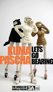 "threeA – Adventures of Isobelle Pascha 系列 ""KUMA PASCHA"" 來勢熊熊"