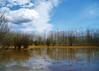 No cal anar tan lluny (jocsdellum) Tags: winter sky water clouds landscape agua cel girona cielo nubes invierno catalunya aftertherain aigua paisatge núvols laselva hivern despuésdelalluvia desprésdelapluja estanysdesils