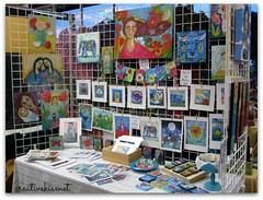 Gifts from Nature art show (Regina Lord (creative kismet)) Tags: holiday art gifts artisanfair giftsfromnature creativekismet reginalord arizonaaudubonsociety