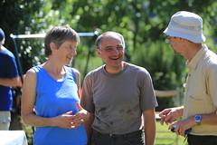 Margret and Pancrazio Tulli with John Simkins