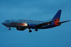 Jet2holidays G-GDFO. (SC 211) Tags: cork airline jet2 corkairport boeing737300 ballygarvan november2013 jet2holidays ggdfo