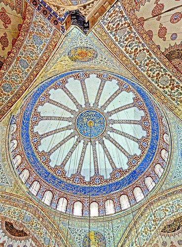 The intricate beauty of the Blue Mosque