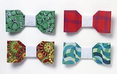 Origami création - Didier Boursin - Noeuds papillon