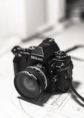DF (Guillermo Murcia) Tags: camera bw white black photography nikon df dof bokeh controls blueprint nikkor pure nikkor20mmf28 guillermomurcia