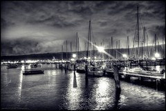 (mynameisjimmy79) Tags: cloud reflection water night marina docks boats photography high dynamic yacht map australia melbourne victoria williamstown porn processing sail shooting much editing too mapping range tone hdr mapped