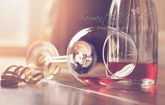The Morning After The Night Before! (Samantha Nicol Art Photography) Tags: life party art glass still wine bokeh flare samantha spill ros nicol