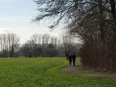 The couple (debeeldenplukker) Tags: nature landscape walkers thecouple fujifilmx10 debeeldenplukker