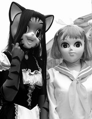 kigurumi (mevrain) Tags: blackandwhite cat cosplay blackandwhitephotography sakuramatsuri thingsisee kigurumi