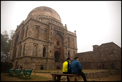 Lodhi Garden (J.S. Jaimohan) Tags: old gay people india monument horizontal architecture canon garden happy exercise time delhi best health future theme leisure past insurance dynasty lodhi 6d jsjaimohan