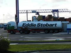PJ62DPZ H6646 Eddie Stobart Scania Fuel Tanker 'Georgina Fr