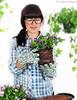 . (retales botijero) Tags: flores primavera garden guantes jardinería cuidados pensamientos jardiniere transplantes