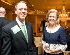 Kevin Kent and Ambassador Anderson