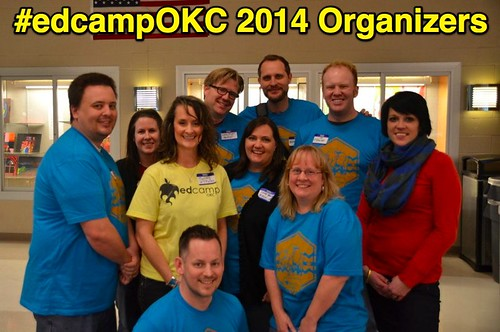 EdCampOKC 2014 Organizers by Wesley Fryer, on Flickr