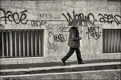 A Milano (Kiodo quello vero) Tags: street people bw milano bn 2014
