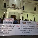 """Marcha para la liberación de Joaquín """"El Chapo"""" Guzmán"""