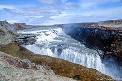 Gullfoss...Roaring waters (keithhull) Tags: waterfall iceland gullfoss vision:mountain=0668 vision:outdoor=099 vision:clouds=0935 vision:sky=0904 vision:ocean=0743