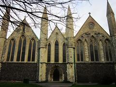 The Minster (LookaroundAnne) Tags: church norfolk yarmouth minster greatyarmouth