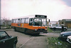 Arriving home (John Everill) Tags: bus garage your smiths plaxton alcester tysoe shennington leylandtiger 50y yourbus e917nac