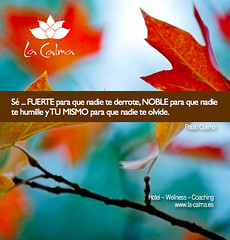 """Se fuerte para que nadie te derrote. Noble para que nadie te humille y TU MISMO para que nadie te olvide. • <a style=""""font-size:0.8em;"""" href=""""http://www.flickr.com/photos/92523077@N06/13089302483/"""" target=""""_blank"""">View on Flickr</a>"""