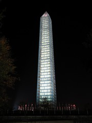 Washington Monument in scaffolding at night, viewed from the east (SchuminWeb) Tags: park november monument metal stone night mall dc washington earthquake construction day scaffolding time ben nps stones district steel web over parks columbia east nighttime national repair obelisk damage restored scaffold service restoration daytime obelisks monuments washingtonmonument nationalparkservice georgewashington restoring overnight 2013 schumin schuminweb