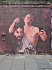Brick Lane (unusualimage) Tags: streetart london graffiti cosmo bricklane caravaggio eastend sarson unusualimage