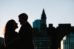 Marina & Joe (kelly.b.photo) Tags: silhouette authenticphotography bostonengagementphotography