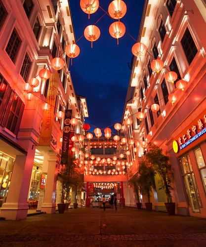 Lucky Chinatown Walk