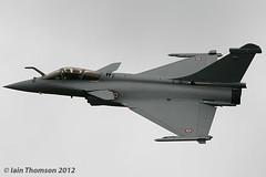 Dassault Rafale C (iainthomson84) Tags: uk force aircraft air royal airshow international departures raf 2012 fairford airtattoo