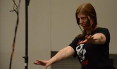 Costume Contest - Zombie (Adventurer Dustin Holmes) Tags: startrek cosplay zombie 2014 costumecontest trekcon trekconspringfield