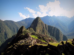 Machu Picchu (FranSopla) Tags: naturaleza mountain building nature inca canon powershot machupicchu sevenwonders mapi famousnature sx30is