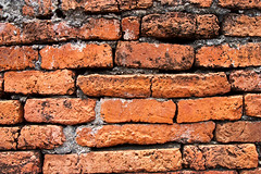 wall (suwapitch13) Tags: old brick texture wall design ancient background traditional cement dirty crack older lime split lump shabby arrange