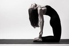 Camel pose (zolag63) Tags: bw girl beauty yoga beautifu yogapose lblackandwhite jga camelpose tevepz