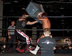 Tommy Dreamer, Joey Ryan-3 (bkrieger02) Tags: squaredcircle nolimits prowrestling fwe professionalwrestling familywrestlingentertainment fwenolimits