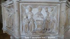 2012 Jul 15 Salle 15c 7-Sacrament font, Baptism (dalevreed) Tags: england2012