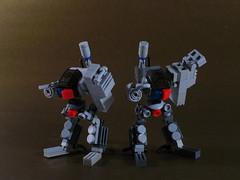 Mixed Range Hi-Legs (seanmonster) Tags: mobile lego frame zero mecha