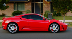 2006 Ferrari F430 F1 (Bernard Spragg) Tags: ferrari redsportscar lumixfz200 2006ferrarif430f1