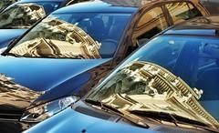 Reflections (NoDurians) Tags: vienna wien auto reflection car reflexion spiegelung automobil