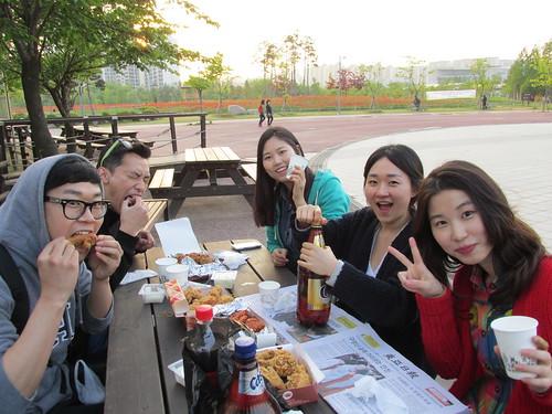 Repas entre amis, Séoul, Corée du Sud
