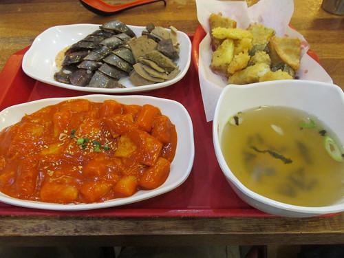 Intriguant repas, Séoul, Corée du Sud