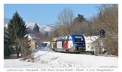 "X 73551 ""Imaginalsace"" - Ranspach (CC72080) Tags: train sncf ter automotrice x73500 ranspach"