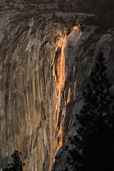 Horsetail Fall, Yosemite National Park (davidcmc58) Tags: california waterfall nationalpark yosemite horsetailfall