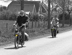 Old school motoring: The SOLEX OTO* (7596) (Le Photiste) Tags: bw wow postcard thenetherlands photographers clay moped soe fairplay giveme5 autofocus photomix ineffable prophoto friendsforever simplythebest finegold bwsc bloodsweatandgears greatphotographers themachines lovelyshot gearheads selectivecolours digitalcreations bwart slowride beautifulcapture selectivecolors oldtransportation damncoolphotographers myfriendspictures artisticimpressions simplysuperb anticando thebestshot digifotopro afeastformyeyes alltypesoftransport iqimagequality allkindsoftransport yourbestoftoday saariysqualitypictures hairygitselite lovelyflickr vividstriking oldmopeds universalart blinkagain canonflickraward theredgroup transportofallkinds photographicworld aphotographersview thepitstopshop thelooklevel1red showcaseimages planetearthbackintheday mastersofcreativephotography creativeimpuls planetearthtransport vigilantphotographersunitelevel1 wheelsanythingthatrolls cazadoresdeimgenes momentsinyourlife livingwithmultiplesclerosisms fryslnthenetherlands infinitexposure djangosmaster bestpeopleschoice rondjegaasterlandthenetherlands elfstedenoldtimerrally solexoto oldschoolmotoring solexfrance