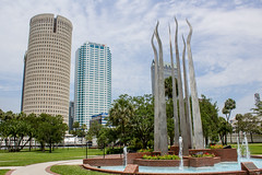 Tampa University and Downtown (Vimlossus) Tags:
